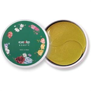 eyeNlip Hydrogel Eye Patch - Gold & Snail
