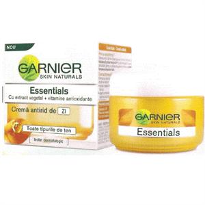 Garnier Essentials Ránctalanító Arckrém Nappali