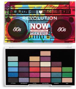 I Heart Revolution Szemhéjpúder Paletta - Now That's What I Call Makeup 80S