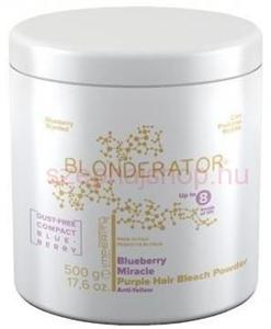 Imperity Blonderator Blueberry Miracle Szuper Prémium Lila Hamvasító Szőkítőpor