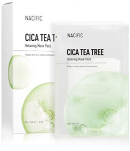 Nacific Cica Tea Tree Relaxing Mask Pack Set