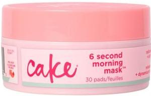 Cake Beauty 6 Second Morning Mask Radiance Enhancing Pads
