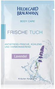 Hildegard Braukmann Body Care Frische Tuch - Lavendel