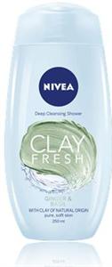 Nivea Clay Fresh Ginger & Basil Tusfürdő