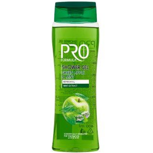Tesco Pro Formula Green Apple & Mint Tusfürdő