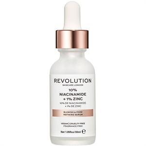 Revolution Skin 10% Niacinamide + 1% Zinc Blemish and Pore Refining Serum