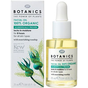 Boots Botanics Facial Oil 100% Organic
