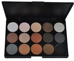ebay 15 Colors Warm Nude Matte Shimmer Eyeshadow Palette