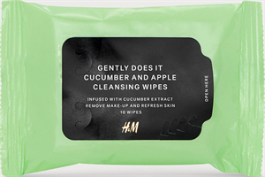 H&M Gently Does It Sminklemosó Kendő - Cucumber and Apple