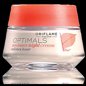 Oriflame Optimals Skin Energy Éjszakai Krém