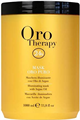 Fanola Oro Therapy 24k Illuminating Mask With Keratin And Argan Oil