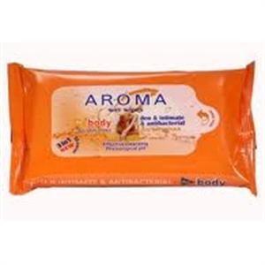 Aroma Wet Wipes Test és Intim Törlőkendő