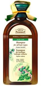 Green Pharmacy Sampon Minden Hajtípusra Bojtorján Kivonattal