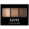 NYX Love In Rio Hármas Szemhéjfesték Paletta