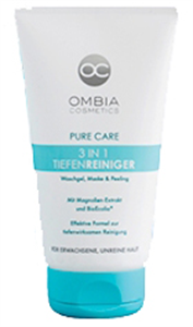 Ombia Cosmetics Pure Care 3in1 Mélytisztító