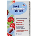 Das Gesunde Plus Tőzegáfonya Kapszula C-Vitaminnal