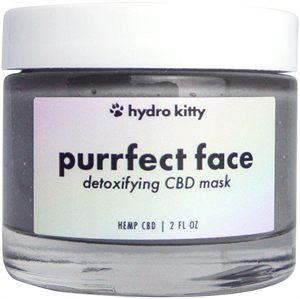 Hydro Kitty Purrfect Face Detoxifying CBD Creme Mask