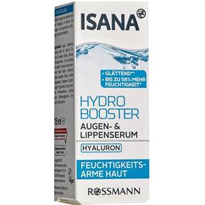 Isana Hydro Booster Augen- & Lippenserum