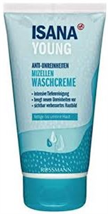 Isana Young Micelles Cleansing Cream