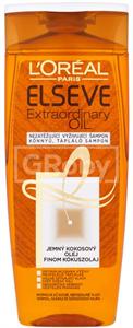 L'Oreal Paris Elseve Extraordinary Oil Könnyű, Tápláló Sampon Normál, Száraz és Szöszösödő Hajra