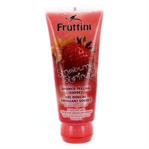 Fruttini Strawberry-Starfruit Bőrradírozó Tusfürdő