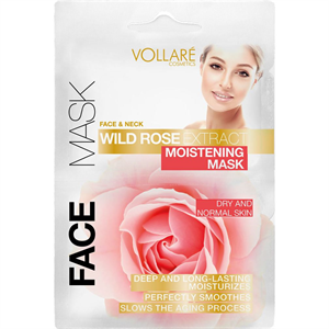 Vollaré Cosmetics Wild Rose Extract Moistening Mask
