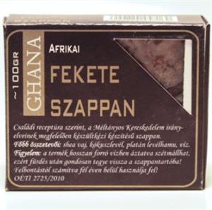 Ghana Afrikai Fekete Szappan