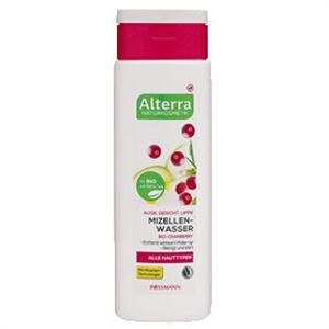 Alterra Mizellenwasser Bio-Cranberry