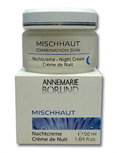 Annemarie Börlind Éjszakai Krém Kombinált Bőrre
