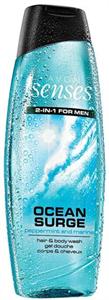 Avon Senses Ocean Surge 2in1 for Men Sampon és Tusfürdő