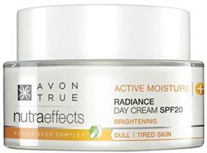 Avon True Nutra Effects Ragyogást Kölcsönző Nappali Krém SPF20