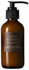 John Masters Organics Jojoba and Ginseng Exfoliating Face Cleanser