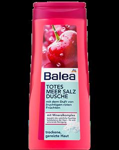Balea Totes Meer Salz Rote Früchte Tusfürdő