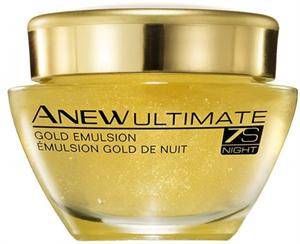 Avon Anew Ultimate 7S Gold Éjszakai Emulzió