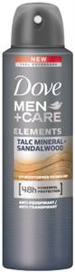 Dove Men+Care Elements Talc Mineral + Sandalwood Izzadásgátló Aeroszol