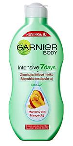 Garnier Intensive 7 Days Ultra Hidratáló Testápoló Tej Mangóolajjal Száraz Bőrre