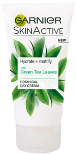 Garnier Skinactive Hydrate+Mattify Green Tea Leaves Moisturizer