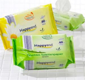 Happyend Nedves Törlőkendő Sensitiv