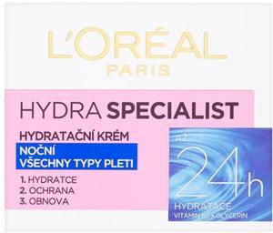 L'Oreal Paris Hydra Specialist Éjszakai Hidratáló Krém