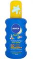 Nivea Sun Kids Színezett Gyermek Napozó Spray FF50+