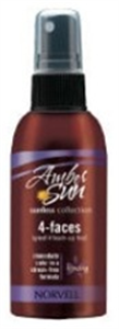 Norvell Amber Sun 4 Faces Arcbarnító Korrektor Spray
