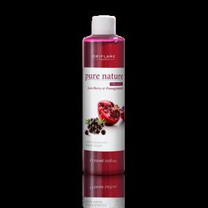 Oriflame Pure Nature Arclemosó Acai-bogyóval és Gránátalmával