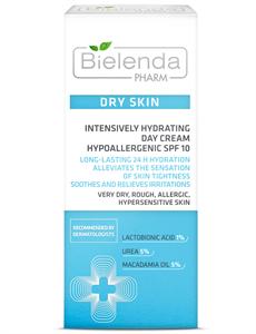 Bielenda Pharm Dry Skin Intenzív Hidratáló Nappali Arckrém SPF10