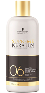 Schwarzkopf Supreme Keratin 06 Smooth Conditioning Gloss Mask
