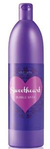 Oriflame Sweetheart Bubble Bath Fürdőhab Fekete Áfonyával és Makaronnal