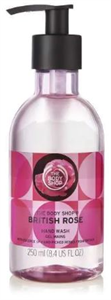 The Body Shop British Rose Folyékony Szappan