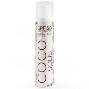 Cocosolis Natural Sunscreen Lotion SPF50