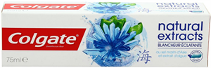 Colgate Natural Extracts Radiant White Fogkrém