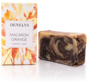 Denelys Macaron Orange Bio Natúrszappan