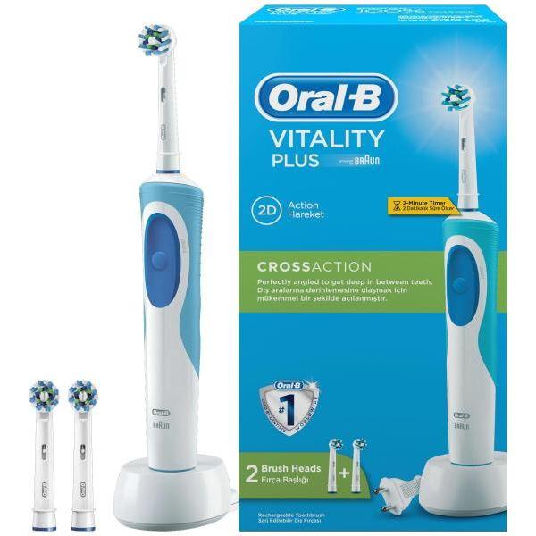 oral b vitality cross action elektromos fogkefe. Black Bedroom Furniture Sets. Home Design Ideas
